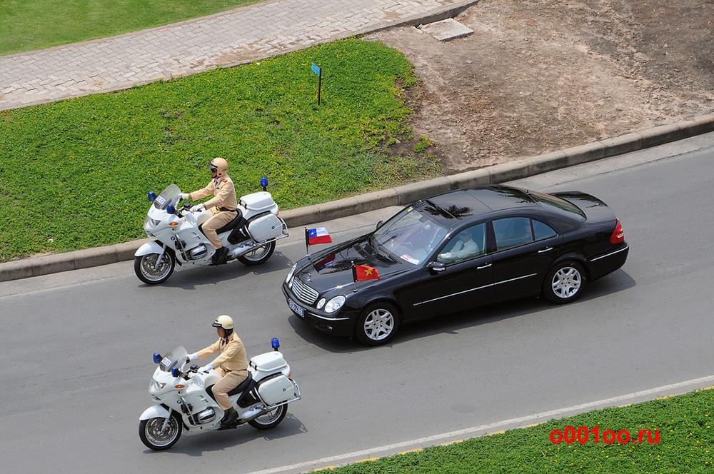 Hanoi Motorcade